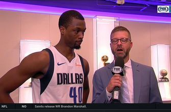 Harrison Barnes talks Mavericks victory over Hawks