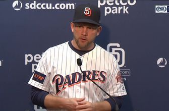 Andy Green evaluates Lucchesi's first half after the Padres 4-2 loss