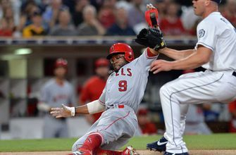Padres give up 4 in 10th inning to Angels in loss