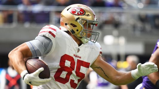 Week 3 Fantasy Tight End Rankings: George Kittle can't be ignored