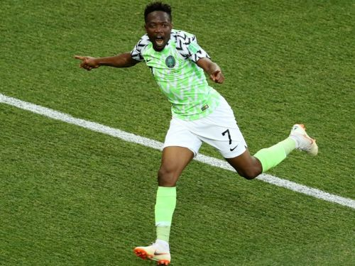 Nigeria 2 Iceland 0: Musa brace boosts Super Eagles & Argentina