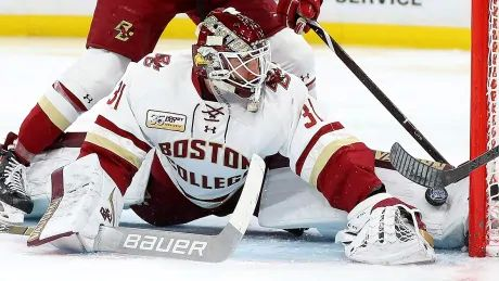 Leafs sign U.S. goalie Joseph Wall to 3-year entry-level deal