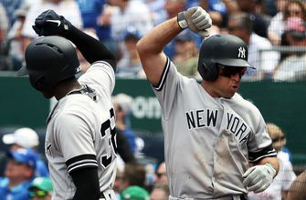Yankees five-run second enough to earn doubleheader sweep over Royals