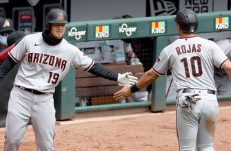 Diamondbacks register six runs in extras vs. Reds extending win streak to four