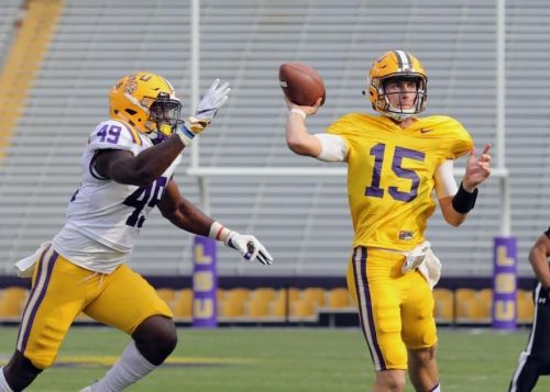 Father of LSU QB Myles Brennan: Joe Burrow 'has three years and 15 pounds on Myles, that's it'