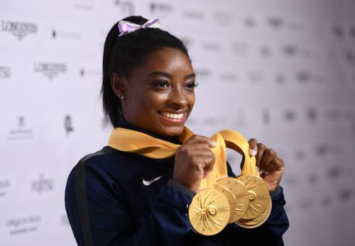 Opinion: Simone Biles sets the standard in gymnastics and maybe any sport you can name