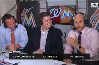 Roger Hoover joins Paul Severino and Todd Hollandsworth in the booth