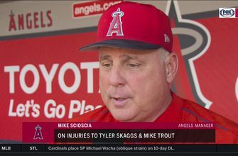 Mike Trout, Tyler Skaggs avoiding DL while suffering from injuries