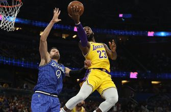 Nikola Vucevic's 36 points help Magic roll past Lakers 130-117