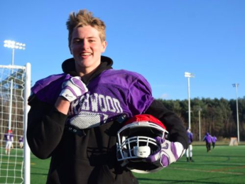 Marshwood junior has committed to play baseball at UMaine. But for now, he's after another state football title