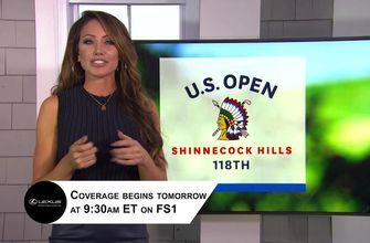 Holly Sonders gets you set for the start of the 118th U.S. Open