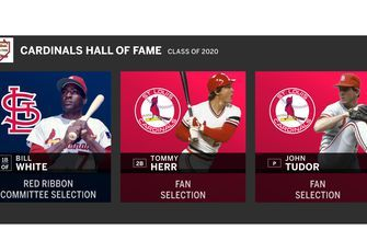 White, Herr, Tudor to become newest members of Cardinals Hall of Fame