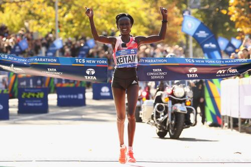 Mary Keitany wins New York City marathon for fourth time