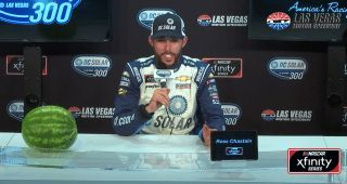 Xfinity Series winner Ross Chastain isn't getting paid to drive the No. 42 car