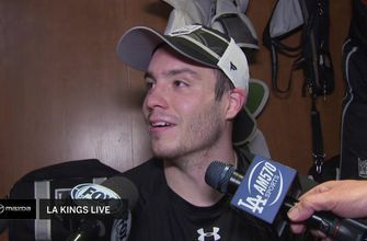 Matt Roy was excited to score his first career NHL goal