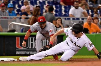 Jeff Brigham's solid night not enough to top Reds, Marlins fall 4-2