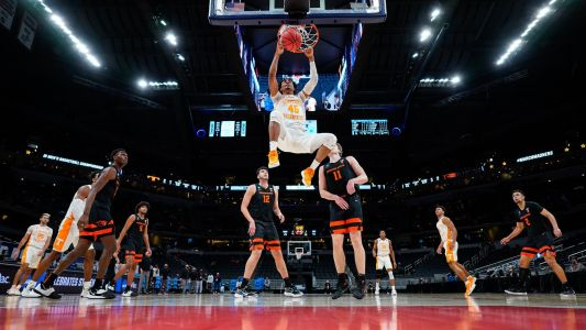 Keon Johnson breaks 20-year-old record with insane vertical jump at 2021 NBA Draft Combine