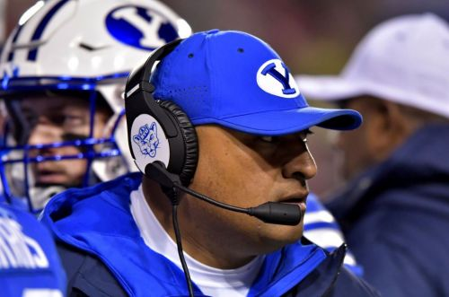 BYU taps Texas State's Eric Mateos as new OL coach