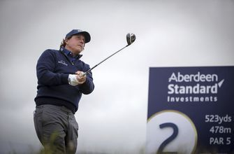 List equals course record to lead Scottish Open by 1