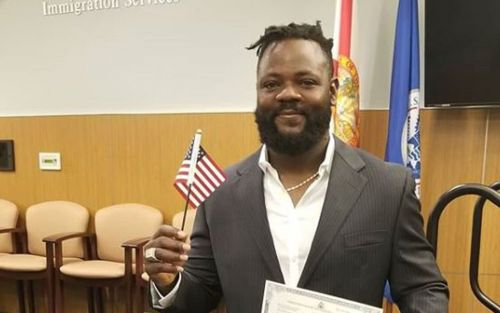 Twins send pitcher out early to become American citizen