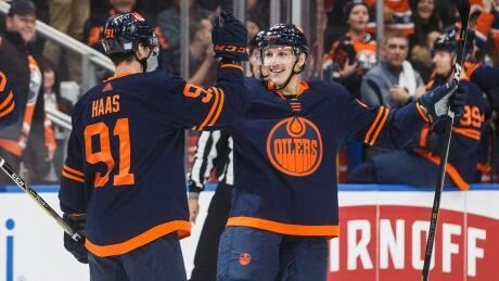 Oilers finally find secondary scoring in shutout win over Devils