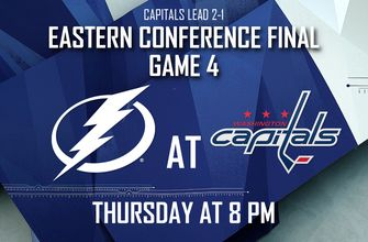Game 4: Lightning set sights on evening up Eastern Conference Final against Capitals