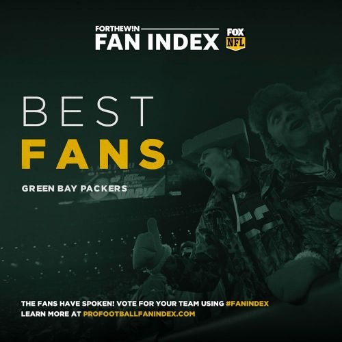 Fan Index: Packers have best fans in the NFL