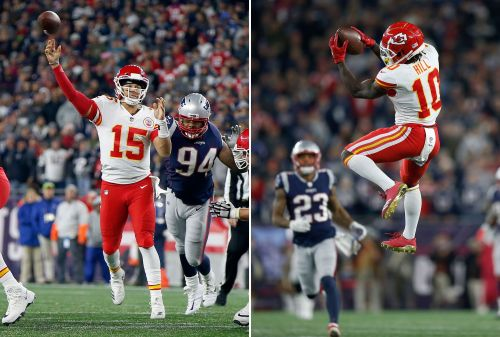 Chiefs' Mahomes-to-Hill connection setting NFL ablaze