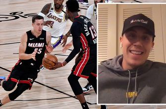 Duncan Robinson on the Heat's Finals run, guarding LeBron James & more | Titus & Tate