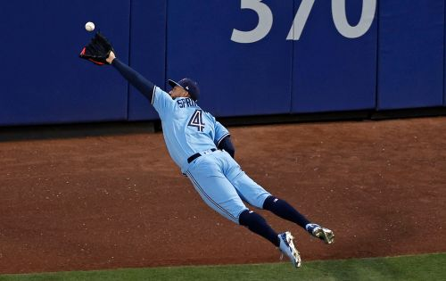 Watch: George Springer hits homer and makes insane diving catch in same inning vs. Mets