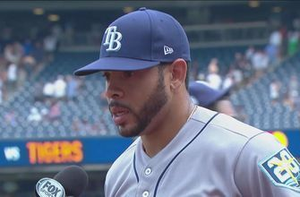 Rays OF Tommy Pham happy to have an impact in 1st game at Yankee Stadium