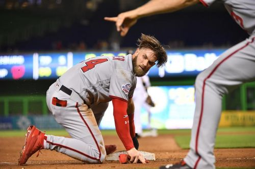 Strange season coming to an end for Bryce Harper