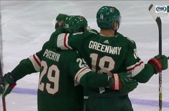 WATCH: Wild's Jordan Greenway spins, fires and scores