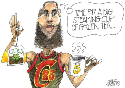 LeBron James and Cleveland Cavaliers look to put Boston Celtics in hot water: Crowquill