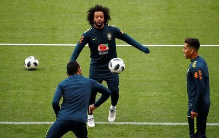 Marcelo's son goes viral with Real heading challenge