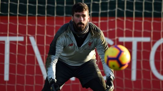 Liverpool's Alisson: One error could be 'fatal' in title battle with Manchester City