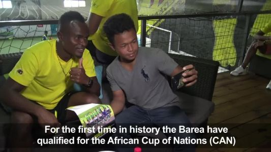 Madagascar's Barea football team qualifies for CAN2019