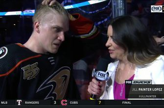 Jakob Silfverberg talks about his game-winning goal in OT