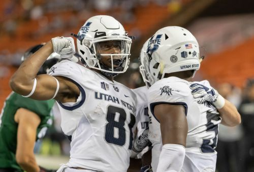 No. 14 Utah State achieving success with rapid-fire offense
