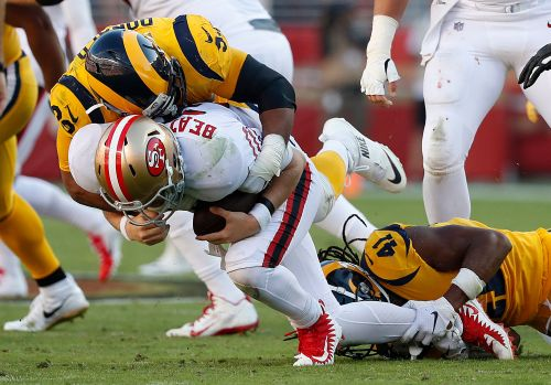 Donald dominates in Rams 39-10 victory over 49ers