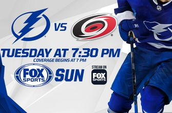 Preview: Lightning's season-opening homestand continues vs. upstart Hurricanes