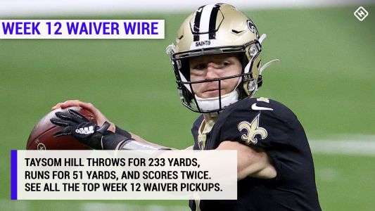 Best fantasy football waiver wire pickups for Week 12