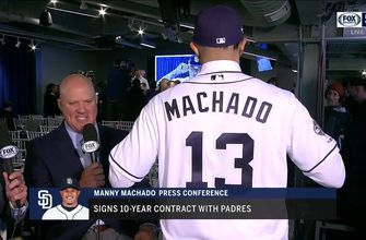 Manny Machado will wear No. 13 with Padres