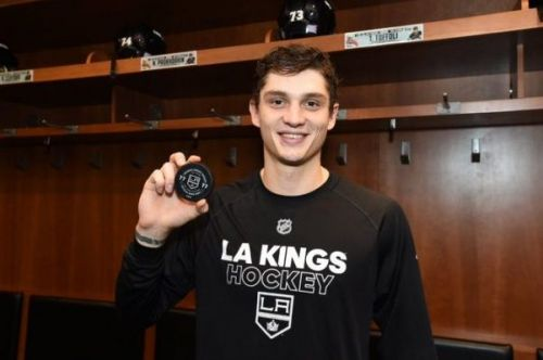 Prokhorkin Opens Up on His Transition to the Kings