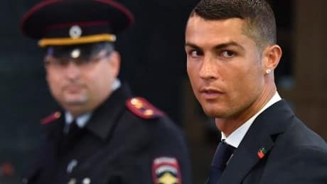 Ronaldo accepts 2-year prison sentence, fine in tax evasion case: report