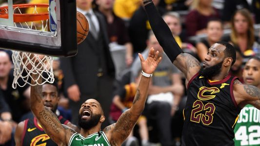 NBA playoffs 2018: Celtics' Marcus Morris says he did a 's-' job defending LeBron James