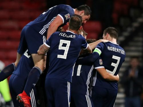 Scotland 3 Israel 2: Forrest hat-trick seals Nations League promotion