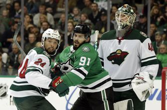 Stars can't figure out Dubnyk, fall 3-1 to the Wild