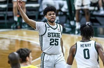 Michigan State upsets rival No. 2 Michigan, 70-64, tournament hopes get huge boost