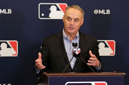 MLB commissioner fires back at players for strike talk